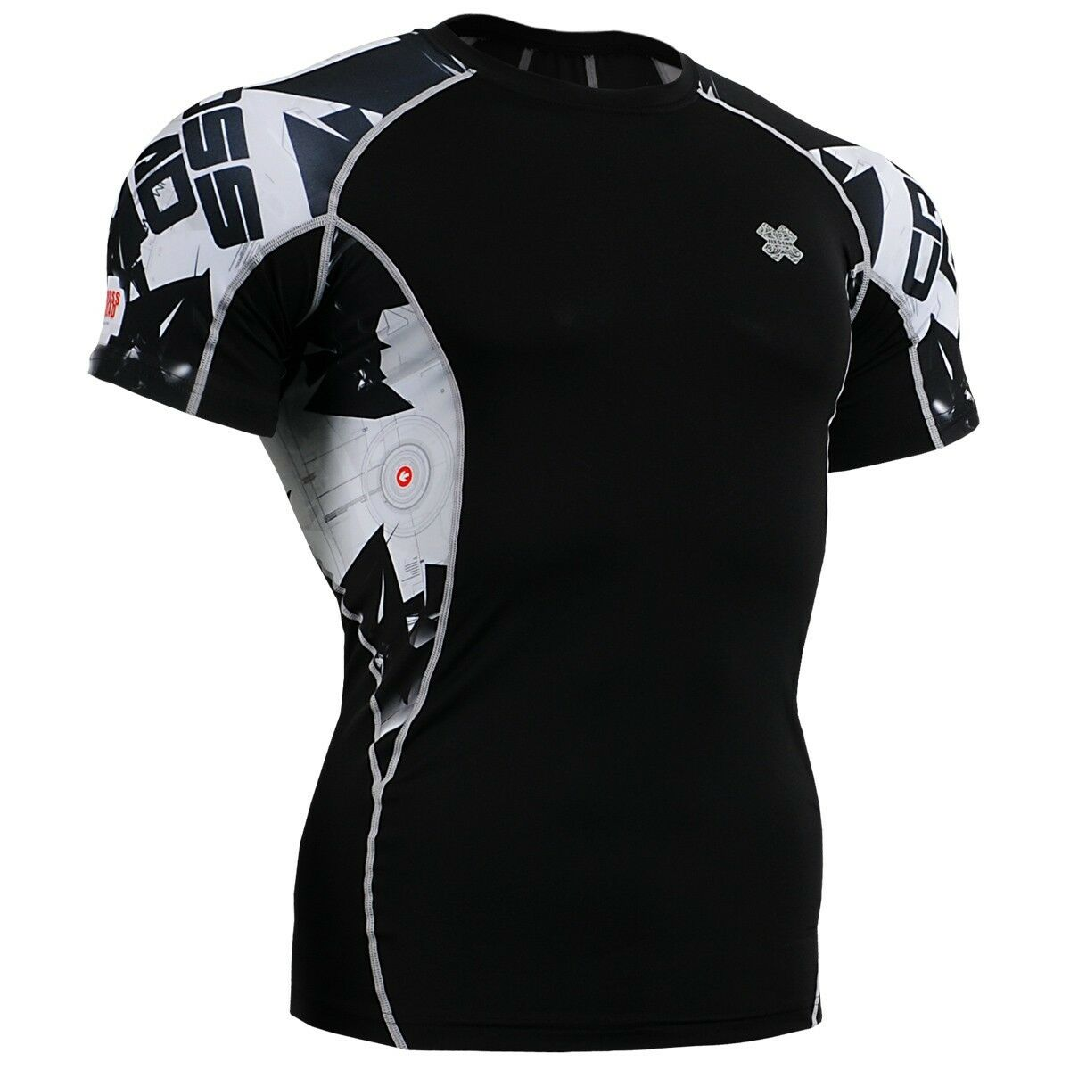 FIXGEAR C2S-B17 Compression Base Layer Workout Shirt Sportswear Gym MMA
