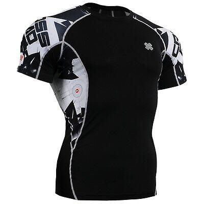 FIXGEAR C2S-B17 Compression Base Layer Workout Shirt Sportswear Gym MMA