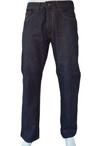 Rocawear-Para-Hombre-Calce-Clasico-034-llama-Puntada-Core-039-Jeans