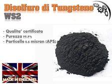 Disolfuro di Tungsteno, WS2, 5 gr Antiattrito olio,  NO Metabond, NO Ceratec