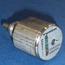 TURCK 24VDC 4 PIN FLOW CONTROL SENSOR FCS-N1/2A2-AP8X-H1141