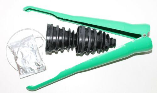 Universal Stretch Achsmanschetten Doppelpack incl Spreiz Montagekegel