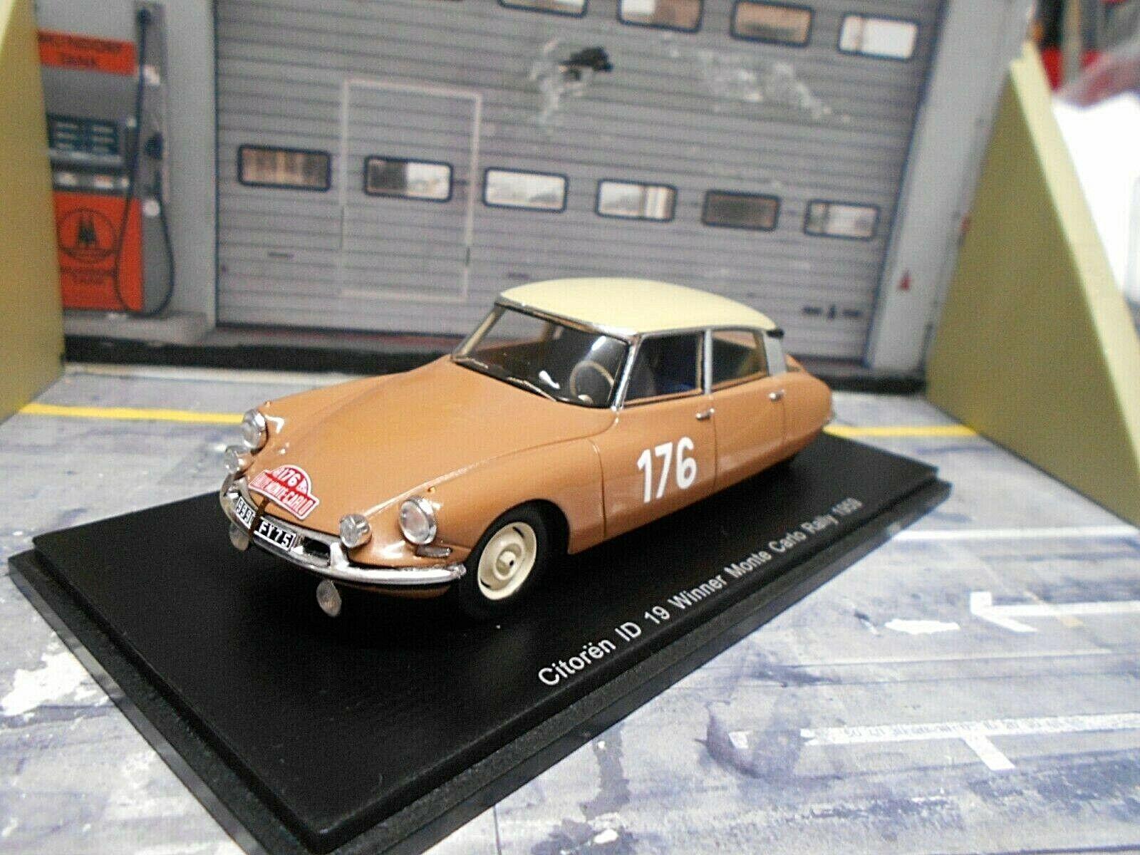 CITROEN ID 19 DS Rallye Monte Carlo 1959  176 Coltelloni Alexandre Spark 1 43