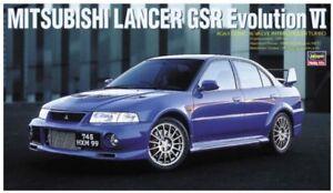 Hasegawa-20336-Mitsubishi-Lancer-GSR-Evolution-VI-1-24th-Kit-de-Coche-Modelo-de-Plastico