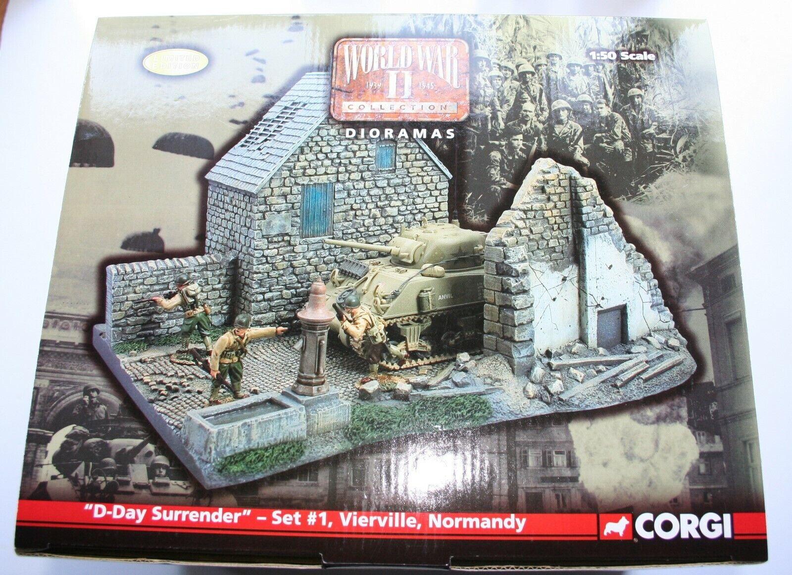 Corgi Us61001 World War Ii Diorama D Day Surrender Set 1 Boxed For Sale Online Ebay