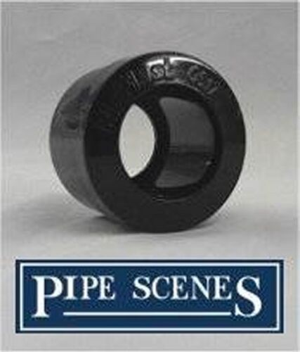 """Overflow Condense Pipe 21.5mm Reducer 36mm 1 1//4/"""" Black Boiler Condensate"""