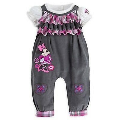 Baby girls dungaree two piece set embroidered flowers and appliqued cute