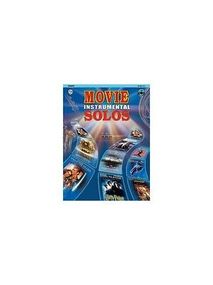 Movie Instrumental Solos Trumpet Film And Tv Trumpet Sheet Music Book & Cd Without Return Brass