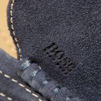 HUGO BOSS Blue Driver DREFIN Fashion Loafers Mens 10 43 Dress Casual Shoes 43 .5
