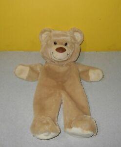 "BABW Build A Bear Tan Swirl 16/"" Cute Big Nose /& Smile Foot Paws Unstuffed Plush"
