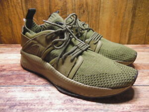 8fbcf008b4b6ad Image is loading NEW-Mens-Puma-Tsugi-Blaze-Evoknit-Olive-Night-