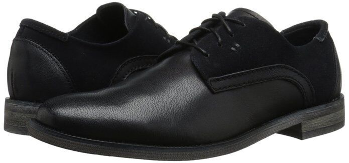 Stacy Adams Men's Barstow Oxford Black Leather Shoes 24982-001