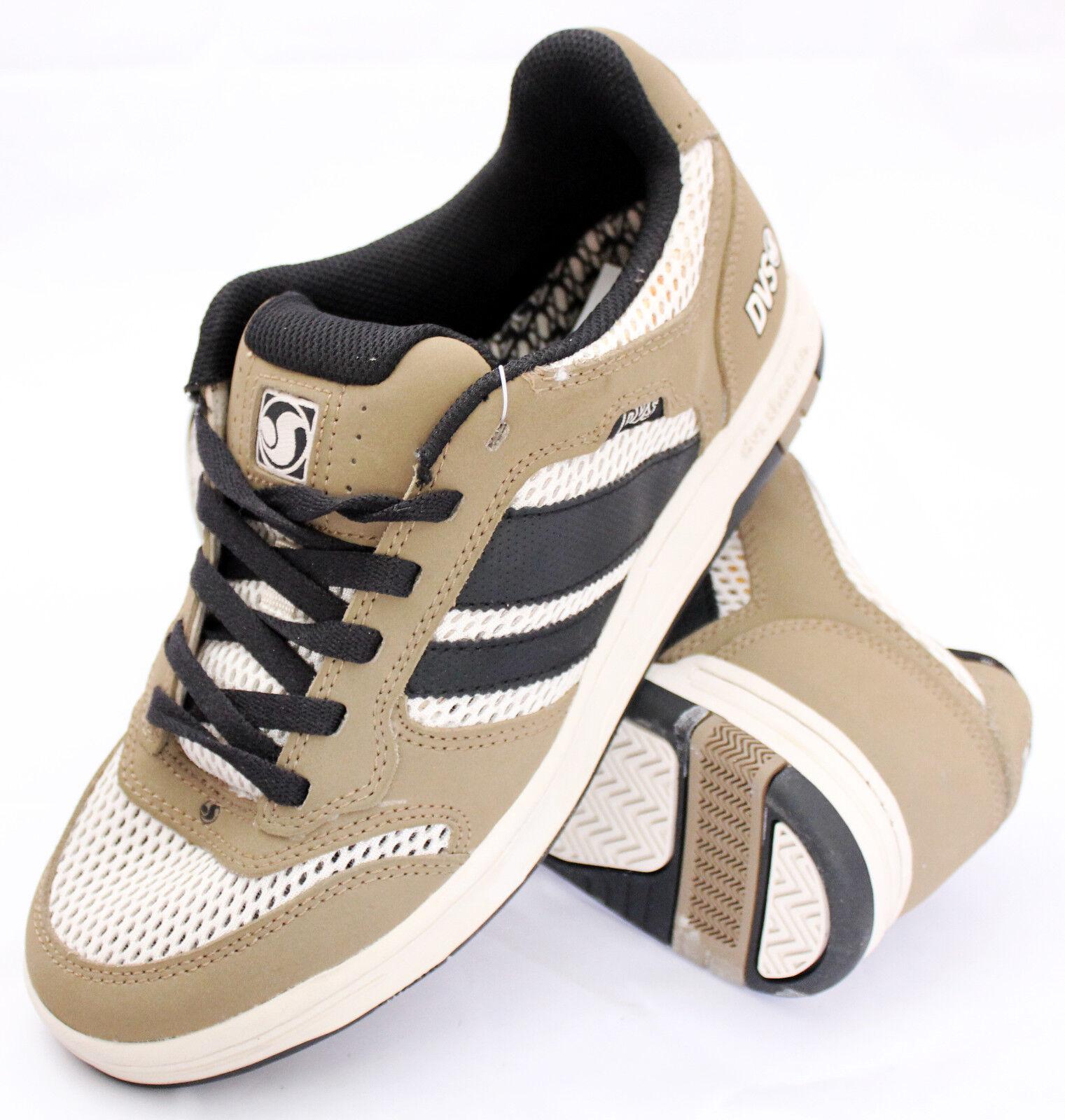 DVS triumph mns brown mesh scarpe da skateboard _ sneakers shoes cod. xtc0701 _ skateboard 9dc902