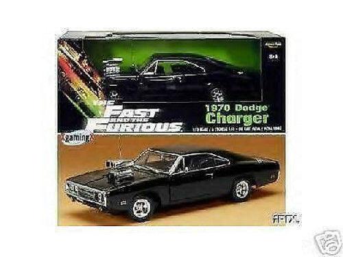 1 18 ertl Joyride Fast & Furious 1970 Dodge Charger vin diesel fuertemente en Filmbox