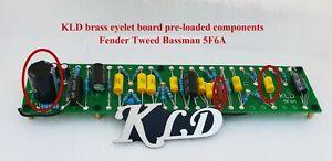 Brass eyelet Glass epoxy FR4 board printed Fender 5F6A amp layout  DIY kits