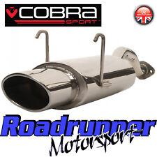 """Hn12 COBRA Civic Tipo R ep3 Posteriore Box Silenziatore Posteriore inox Scarico Ovale 6x4"""""""