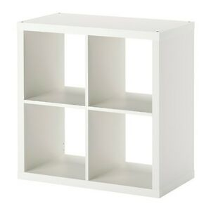 Ikea kallax regal wei 77 x 77cm kompatibel mit expedit wandregal b cherregal - Kallax regal weiay ...