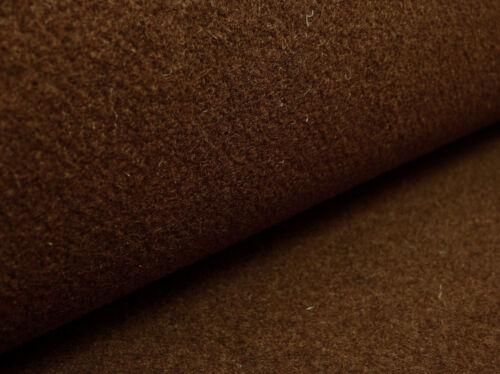Filz Wollfilz ca 3 mm Stark dunkelbraun meliert Filzstoff Schurwollfilz 50x100cm