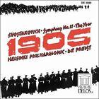 """Shostakovich: Symphnoy No. 11 """"The Year 1905"""" (CD, Apr-1989, Delos)"""