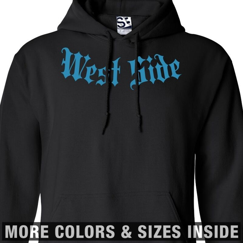 West Side Addict HOODIE Addiction Hooded Sweatshirt Coast - All Größes & Farbes
