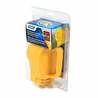 Camco 55353 Rv 50 Amp Replacement Female Power Cord Receptacle With Handle