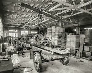 1918 Fageol Motors Co Truck Assembly Oakland Ca Photo 160 Y Ebay