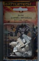Battletech Gabriel Hovercraft (8) Mint Iron Wind Metals