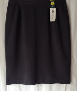 NEW-LADIES-PLAIN-LINED-FORMAL-PENCIL-OFFICE-SKIRT-4-COLOURS-2-LENGTHS-8-SIZES