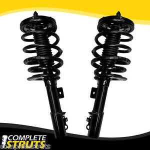 95 02 lincoln continental front complete struts coil springs conversion kit x2. Black Bedroom Furniture Sets. Home Design Ideas