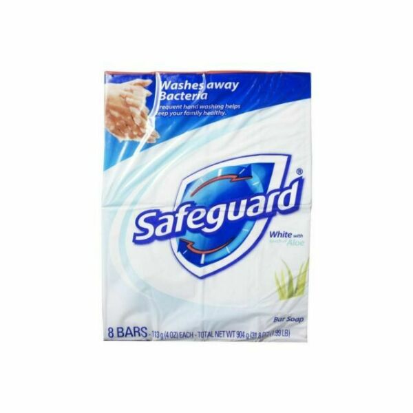 Safeguard Antibacterial Deodorant Soap White With Aloe 32 ...