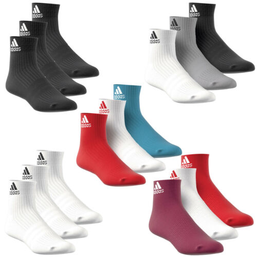 Adidas Performance Ankle Sports Socks Tennis Socks Socks 3 Pairs