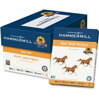 Hammermill Multipurpose Paper 20lb 8-1/2x11 96 Ge/112 Ios 500/rm We 103267rm on sale