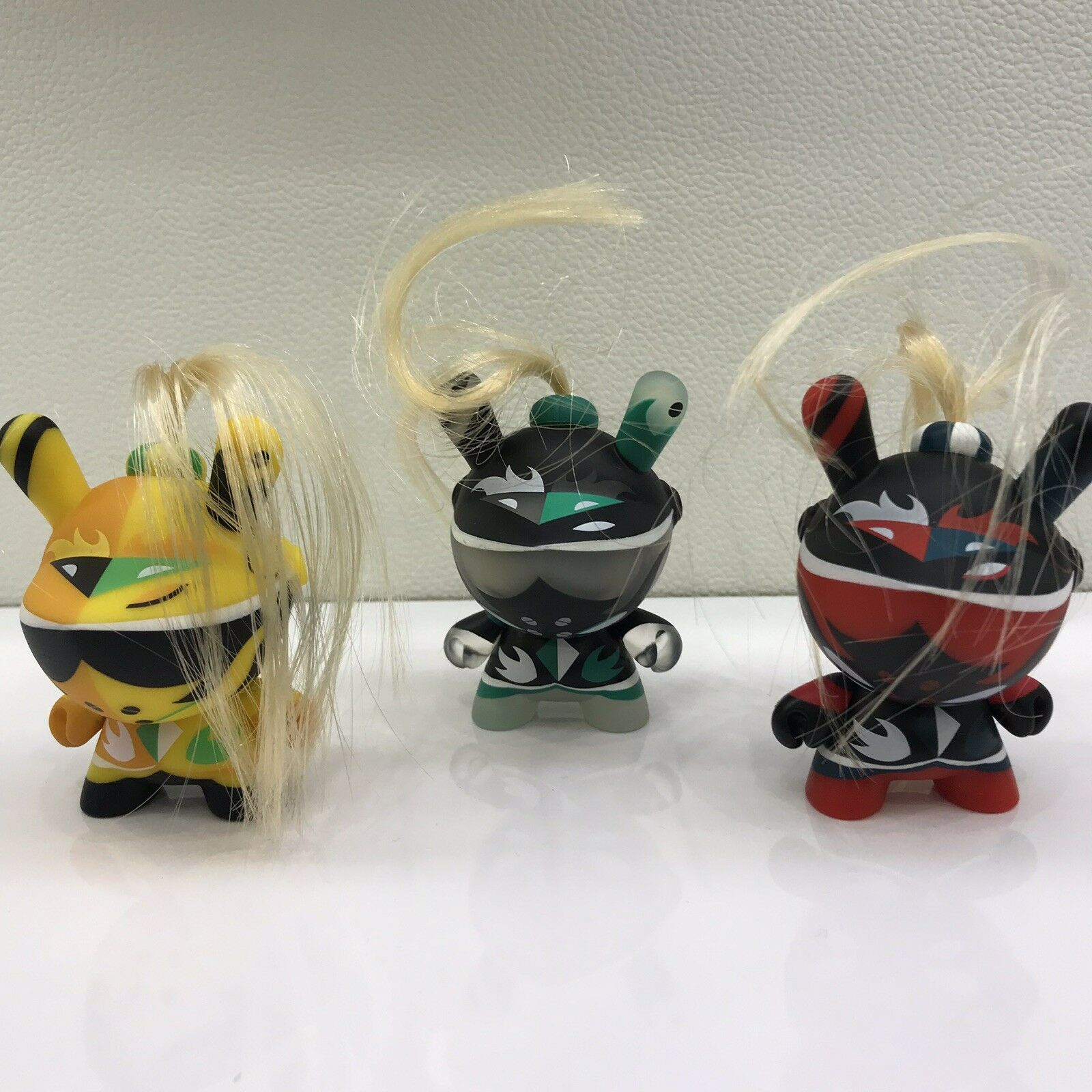 Kidrobot Art of War Dunny Series — Untitled — Patricio Oliver — SET OF ALL 3