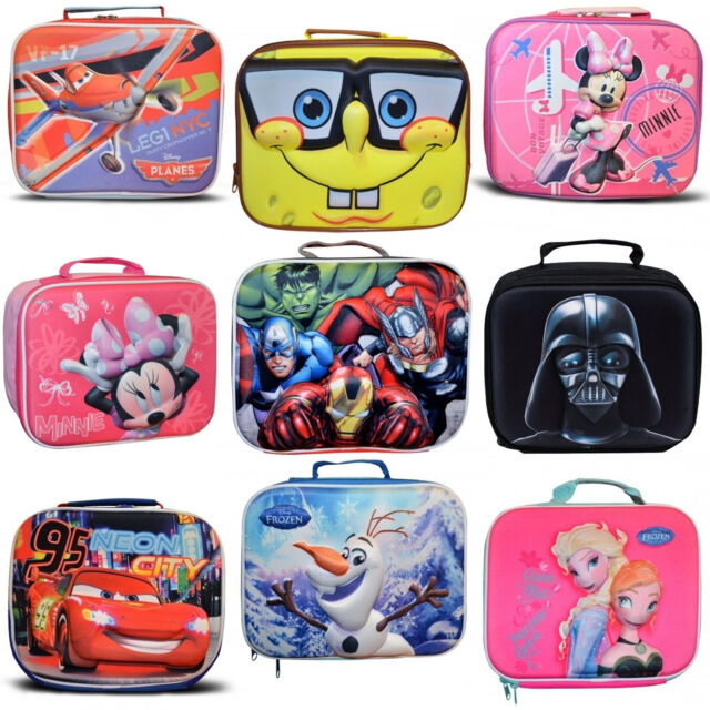 Lunch Insulated Bag New Official Disney Mickey Mouse Boys Selfie 3D Eva School