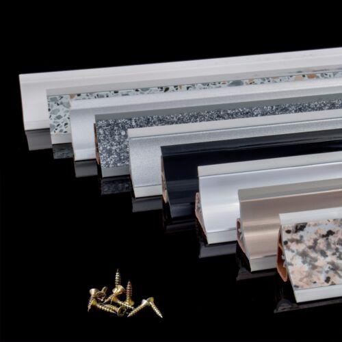 3m ABSCHLUSSLEISTE 23mm x 23mm Winkelleisten Küche Tischplatte Arbeitsplatte