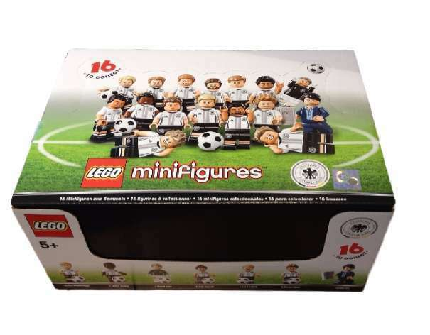 LEGO ® 71014 Minifigures écusson National German Football équipe RAR Neuf neuf dans sa boîte SEALED