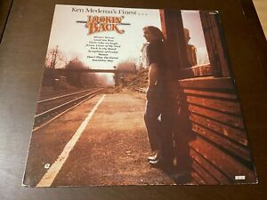 Ken Medema's Finest~Lookin' Back~NM~Religious Soft Rock LP~Word~Christian Xian