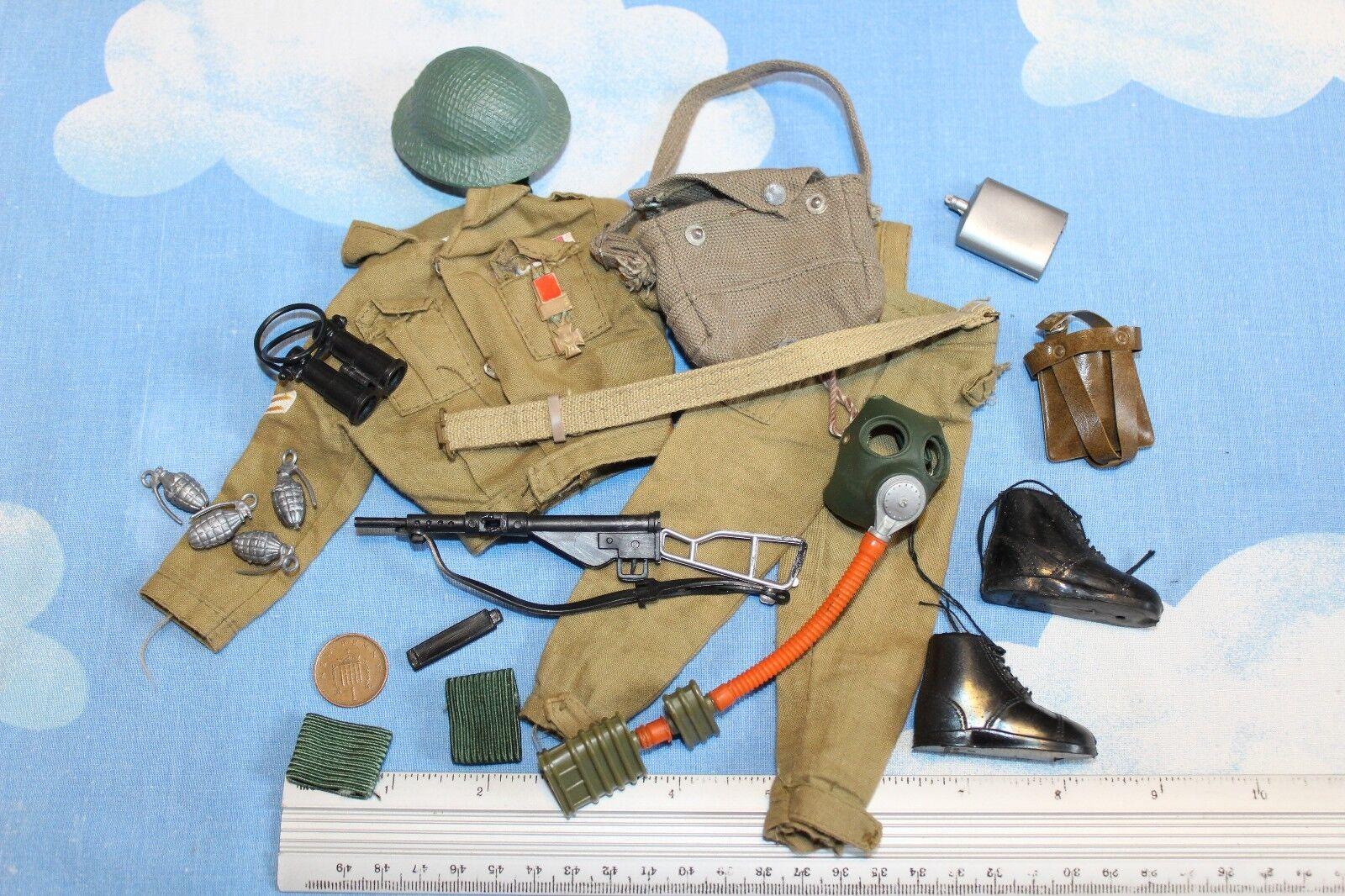 Original Vintage Action Man BRITISH Fantassin uniforme CB30211
