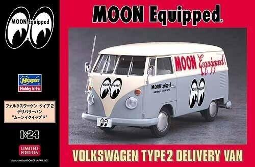 Hasegawa 1 24 Volkswagen Type 2 Delivery Van 'Moon Equipped'