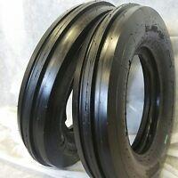 (2 Tires + 2 Tubes) 6.00-16 8ply Road Warrior F2 3-rib Farm Tractor Tire 600168