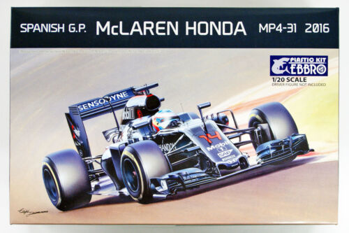 1//20 scale plastic model kit Ebbro 20018 McLAREN HONDA MP4-31 2016 Spanish G.P
