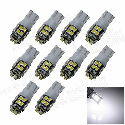10X T10 20 SMD1210 LED White Super Bright Car Lights Bulb 194,168,2825, W5W A029