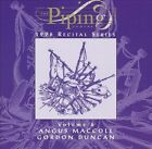 The Piping Centre 1996 Recital Series, Volume 4 * by Angus MacColl (CD, Apr-1998, Temple (UK))