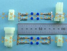 Sumitomo HM 2 way connector sets x 2 for 1 pair Motorcycle Indicators HONDA/YAMA