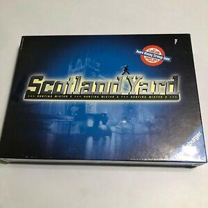 Scotland Yard Hunting Mister X Crime Mystery Theme Ravensburger Board Game NEW