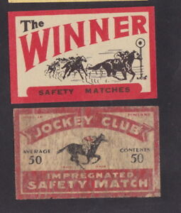 Ancienne étiquette Allumette Finlande BN25424 Jockey Cheval uHZeuTNl-09110259-438347655