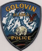 "*NEW*  Golovin - Chinik, AK  (4"" x 5"") shoulder police patch (fire)"