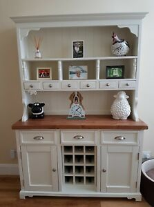 Image Is Loading Welsh Dresser Farmhouse Kitchen Unit Rustic Shabby Chic