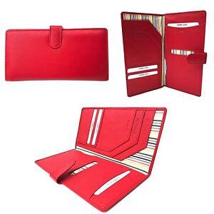 1005 Leather Travel Organiser Wallet Document Holder By Golunski various colours