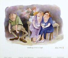 ERICA OLLER Wondering If He Is Single ROMANCE humour SIZE:25cm x 19cm